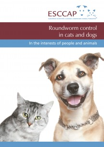 Roundworm control in cats and dogs